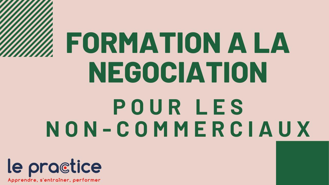 formation à la négociation